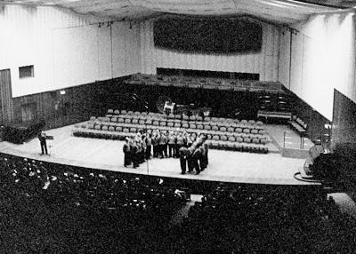 Milano 1997, sala grande del Coservatorio Giuseppe Verdi - Concerto monografico con canti di A.B.Michelangeli
